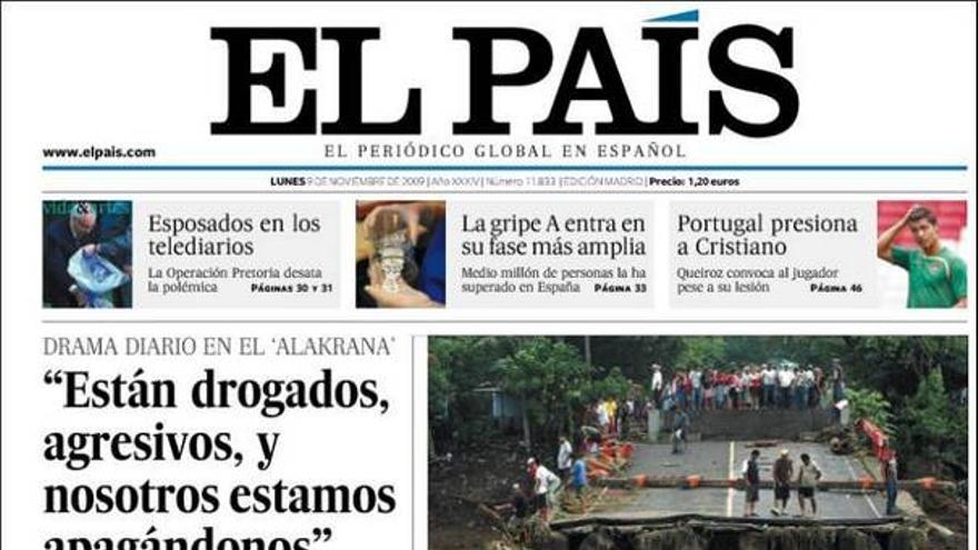 De las portadas del día (9/11/09) #6
