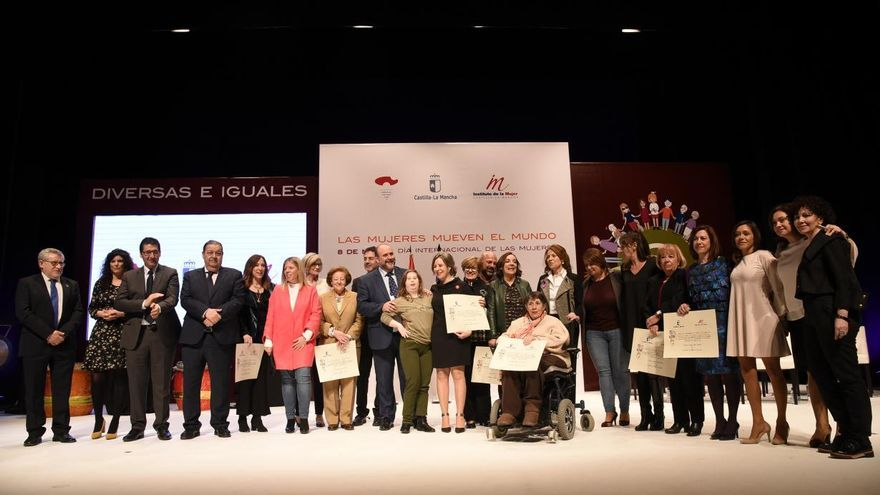 Acto institucional del Día de la Mujer Castilla-La Mancha