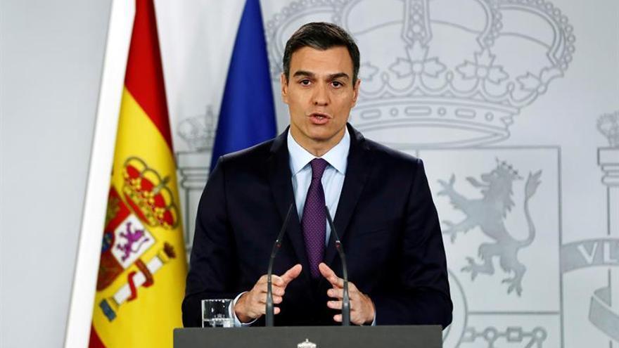 Sánchez recalca que nunca aceptará un referéndum de autodeterminación