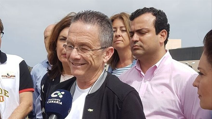 El hasta hoy responsable de comunicación de Vox en Las Palmas, Carmelo González.