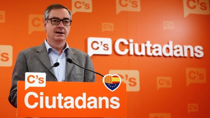 """C's ve """"falta de ambición"""" en Rajoy y le pide que no se """"acomode"""" con el PSOE"""