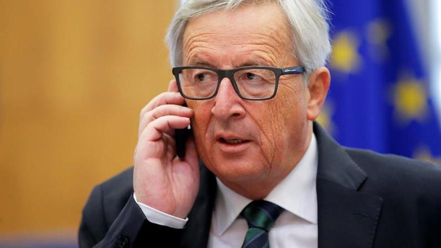 La CE y el Consejo Europeo pide cooperación con Trump y le invitan a visitar la UE