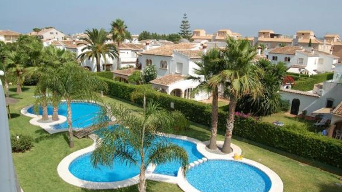 Complexe residencial 'Venecia' a Xàbia (Alacant).
