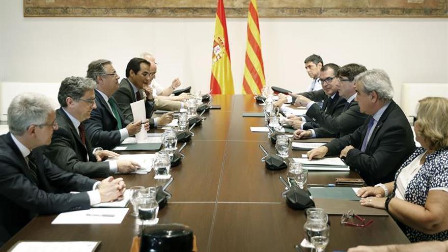 Reunión de la Junta de Seguridad de Catalunya entre el Gobierno y la Generalitat, el pasado julio