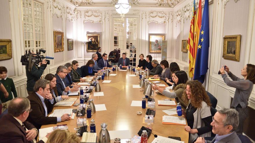 Una Junta de Síndics de las Corts Valencianes