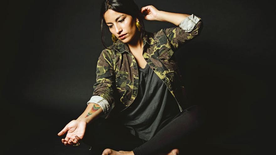 La cantante y compositora chilena Ana Tijoux