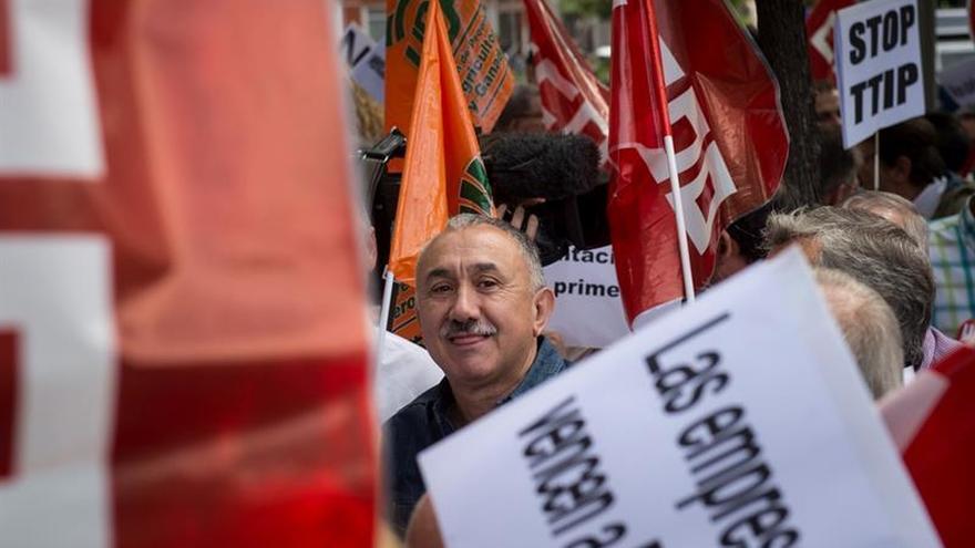 """Álvarez: """"Si el Gobierno desobedece al Parlamento podemos acabar en huelga"""""""
