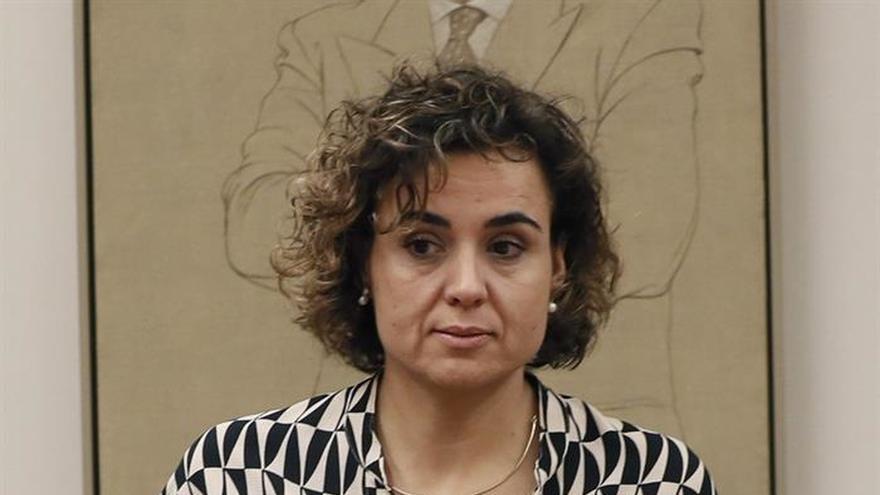 Montserrat a Puigdemont: el golpe se dio en el Parlamento catalán