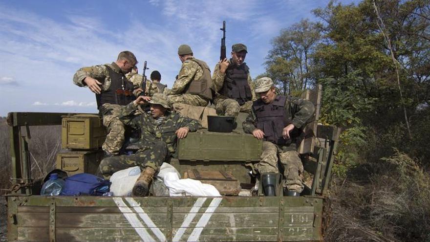 Diez militares han muerto en el este de Ucrania en los últimos cinco días