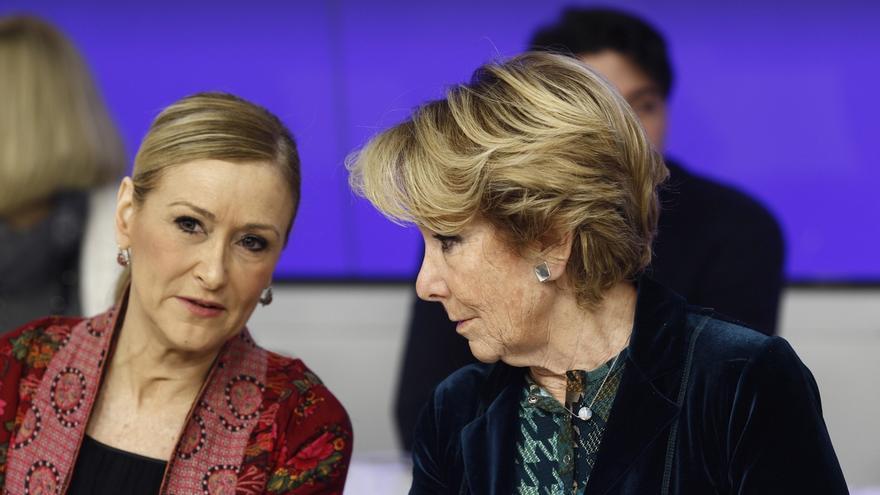 El PP expresa su respeto a las decisiones judiciales sobre Aguirre y Cifuentes, pero apela a la presunción de inocencia