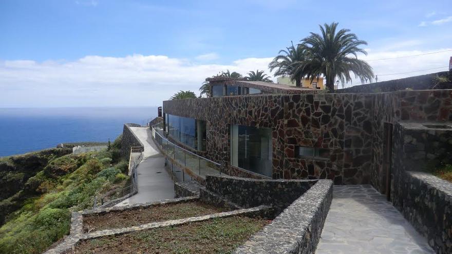 En la imagen, exterior del Parque Arqueológico El Tendal.