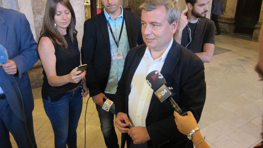 """Xuclà (PDeCAT) dice que el papel de los Mossos en el referéndum del 1-O será """"secundario"""", como en el 9N"""