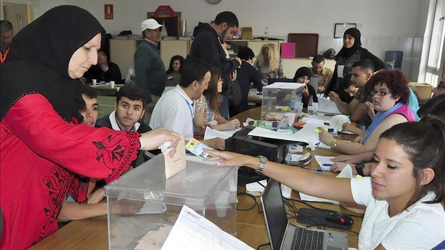 El escrutinio se para en el 88 por ciento por incidencias en 11 mesas electorales