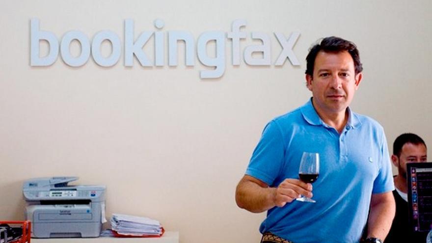 Antonio Mariscal, CEO de Bookingfax y TravelOfertas, en su oficina, situada en Jerez.