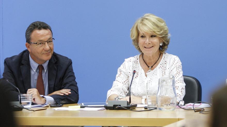 """Henríquez de Luna traslada su """"orgullo y tristeza"""" por la dimisión de Aguirre y destaca el """"honor"""" de trabajar a su lado"""