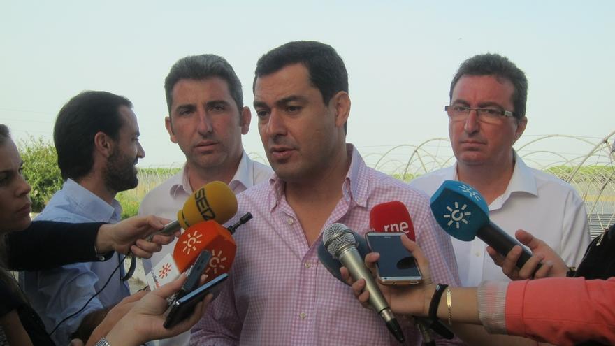 """Moreno (PP-A) cree que Díaz está """"nerviosa"""" y demuestra """"muy poco respeto por la justicia"""" con la queja al CGPJ"""