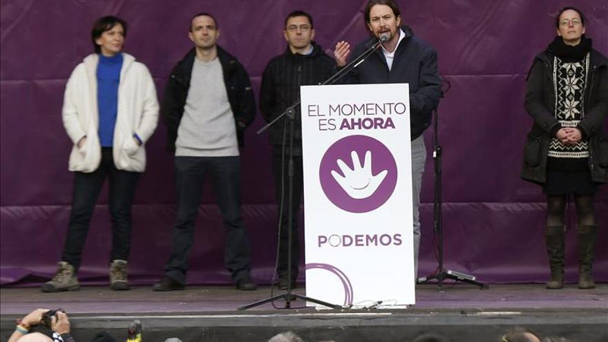 """El Gobierno de Madrid aprecia """"tintes mesiánicos"""" en la manifestación de Podemos"""