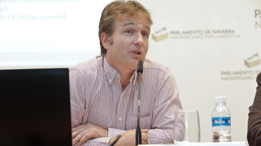 El profesor y abogado Xabier Etxebarria