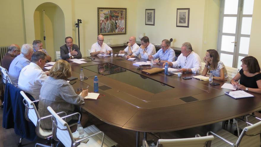 Reunión de la Comisión para preparar el Presupuesto 2018
