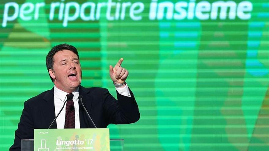 Renzi lanza campaña para las primarias del PD con críticas a sus contrarios