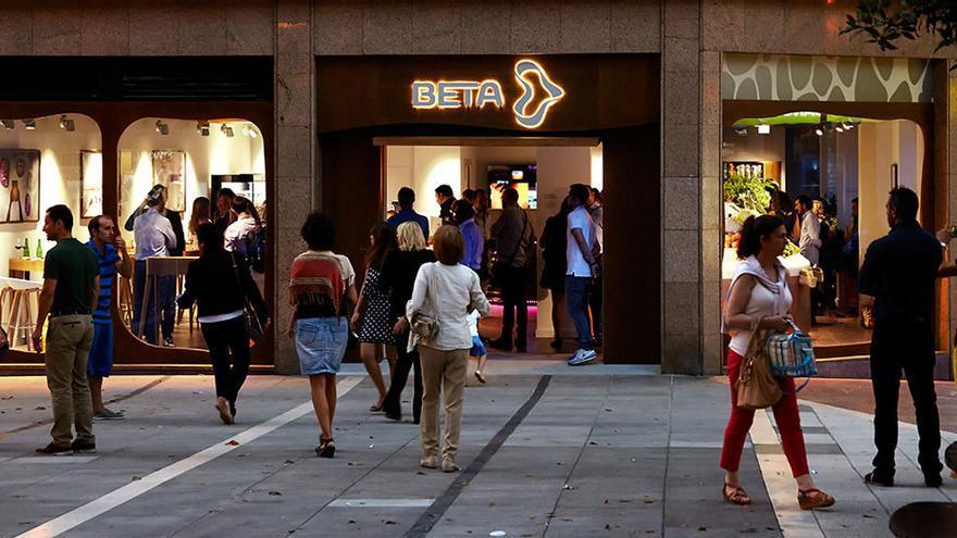 Tienda de productos ecológicos de Beta en Oviedo. Foto: Beta