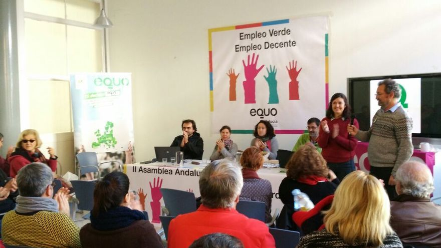 Asamblea de EQUO Andalucía.