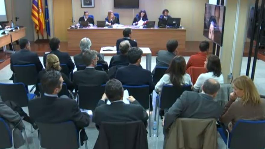 El exdirector de Cacsa testifica en el juicio que se desarrolla en la Audiencia de Palma por el caso Nóos