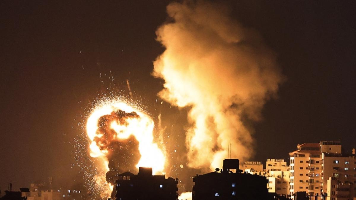 El Ejército israelí lanzó hoy más bombardeos en la Franja de Gaza.