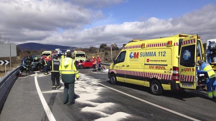 Los muertos en el accidente de Ávila son cuatro hombres y una mujer