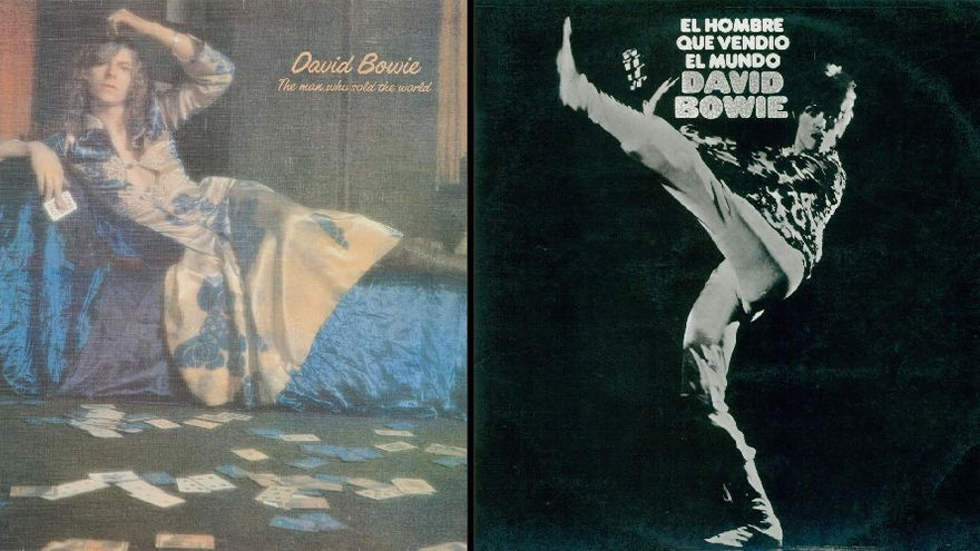 """La portada de David Bowie censurada por """"mostrar travestismo"""""""