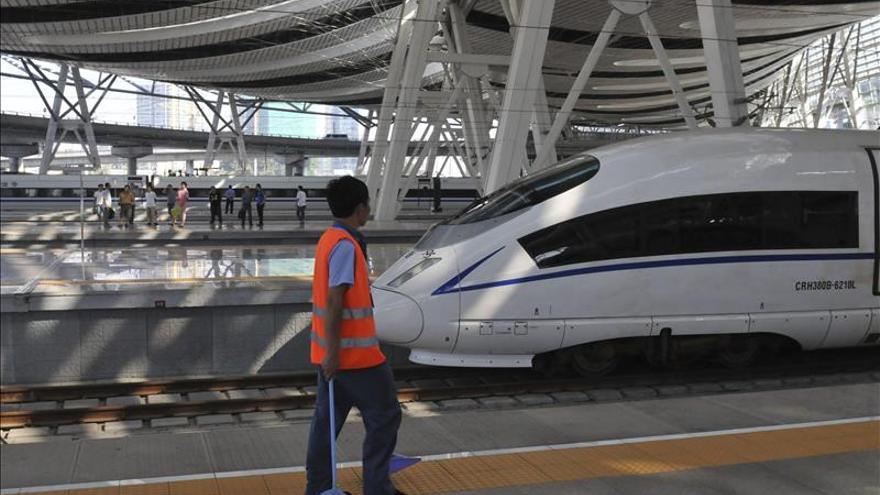 China supera los 16.000 kilómetros de líneas de ferrocarril de alta velocidad