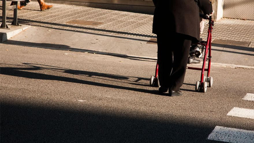 La mitad de las pensiones en España no supera los 655 euros al mes.