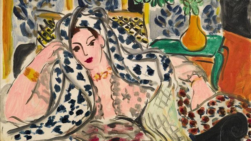 """Sale a subasta una """"Odalisca"""" de Matisse valorada en 11 millones de euros"""