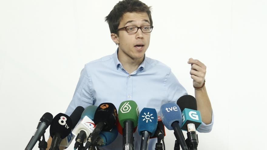 Errejón presentará este martes las alegaciones al expediente disciplinario abierto por la UMA