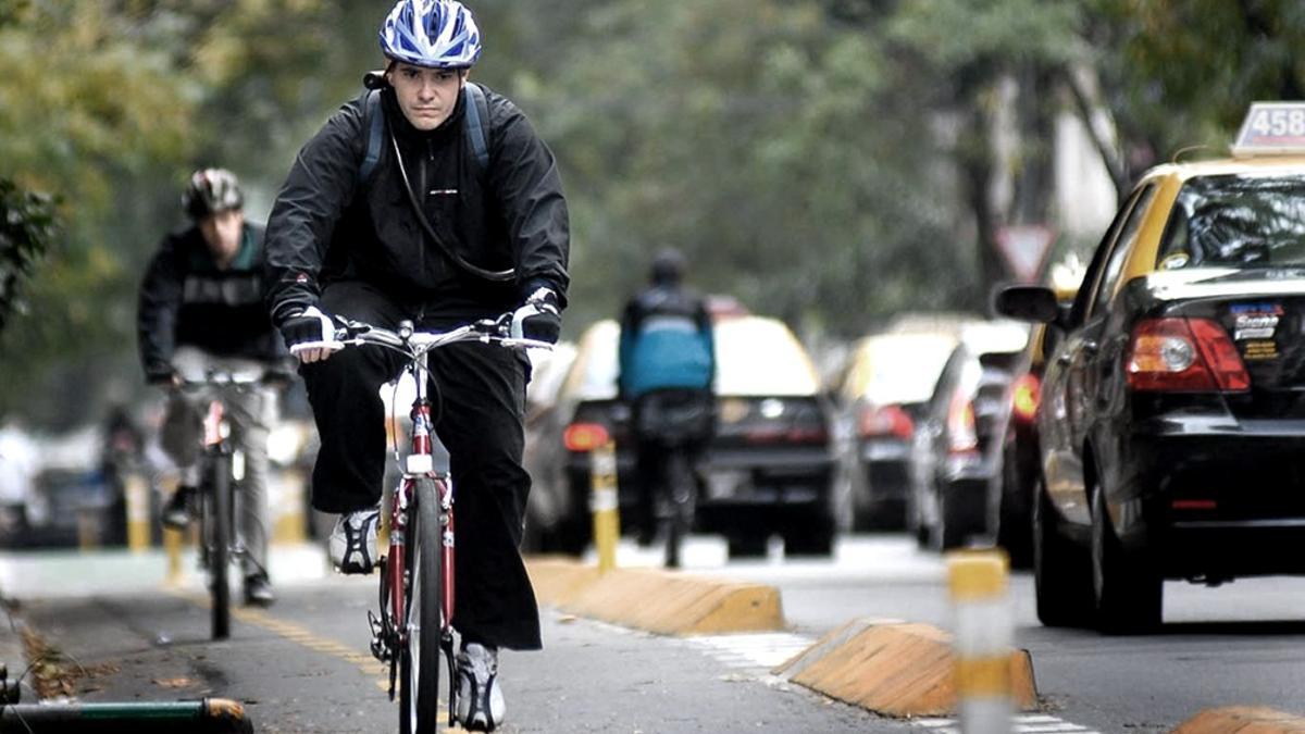 Con la pandemia el uso de la bicicleta creció un 156% en el país y un 177% en la ciudad de Buenos Aires.