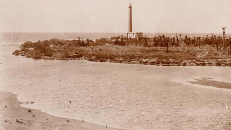Faro de Maspalomas en 1925