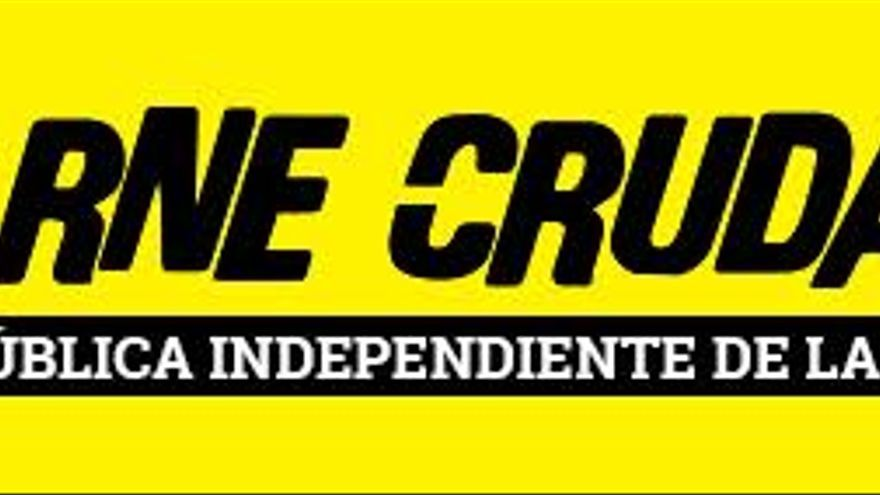 pie banner horizontal carne cruda