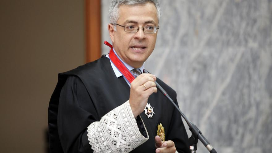 Fiscal jefe de la provincia de Las Palmas, Guillermo García Panasco.