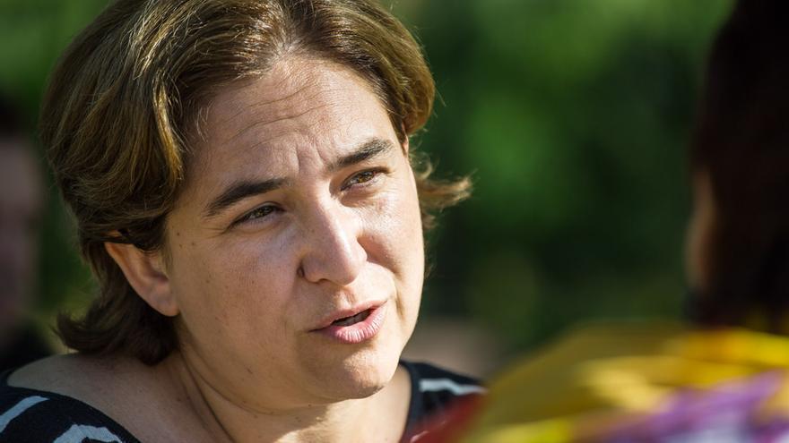 La candidata per l'alcaldia de Barcelona Ada Colau / ENRIC CATALÀ
