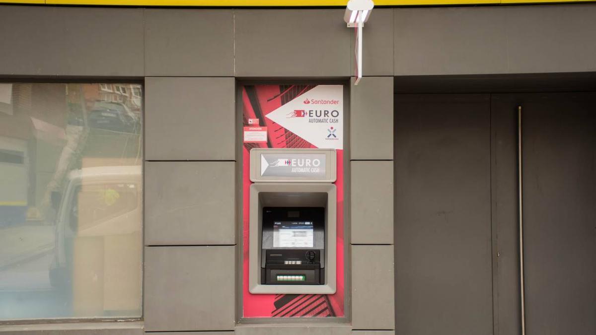 Un cajero automático de Correos