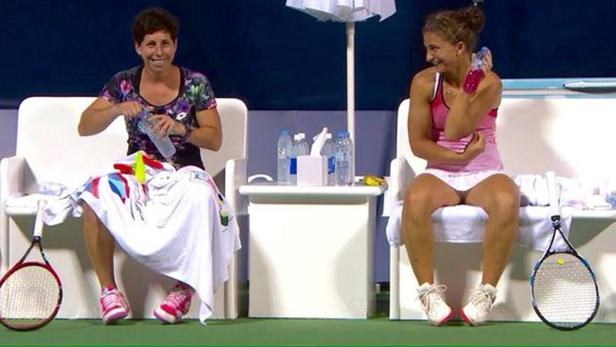 La tenista grancanaria Carla Suárez Navarro.