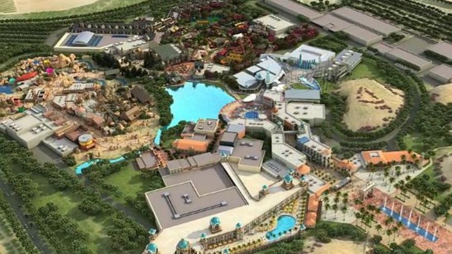 En Gran Scala se pretendían poner en marcha de 32 casinos, 70 hoteles y cinco parques temáticos
