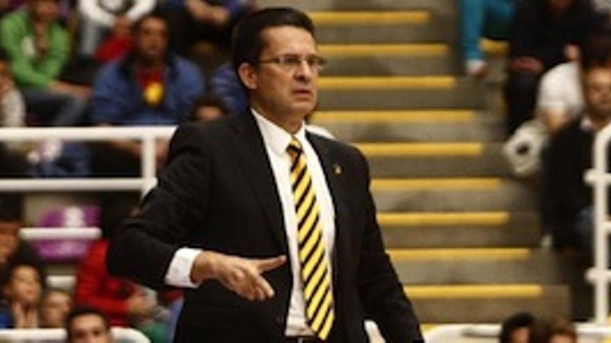 Pedro Martínez, entrenador del Herbalife Gran Canaria.