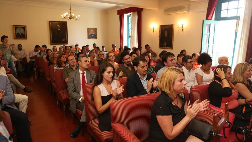 Acto de Ciudadanos en la Real Sociedad Económica de Amigos del País en Gran Canaria.