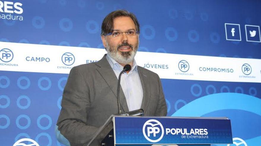 Fernando Pizarro, portavoz del PP de Extremadura
