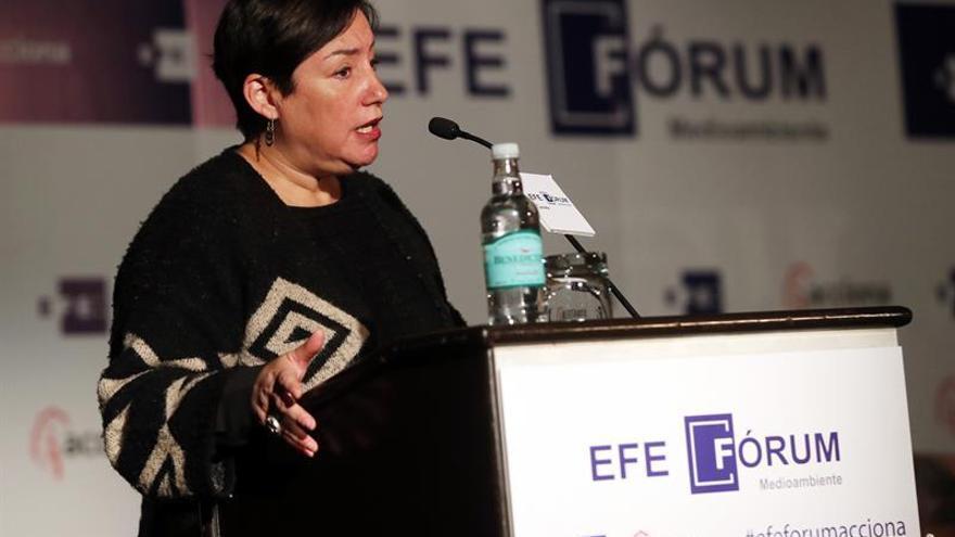La candidata Sánchez advierte que Chile es muy vulnerable ante cambio climático