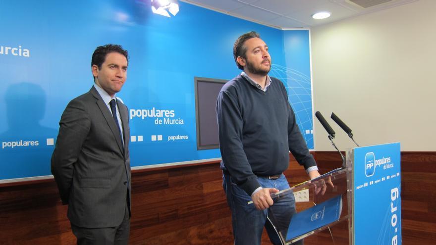 """PP Murcia dice que el caso de Bárcenas es un motivo """"para abochornarnos"""" y pide toda la contundencia de la ley"""