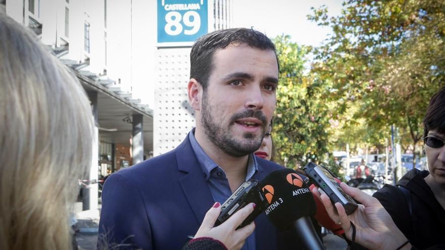 Alberto Garzón minimiza la dimisión de tres miembros de su equipo de campaña y sigue confiando en dar la sorpresa el 20D