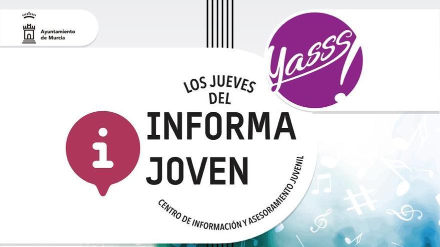 'YASSS! Informajoven' vuelve este jueves con música en directo para acercar el talento a los jóvenes del municipio