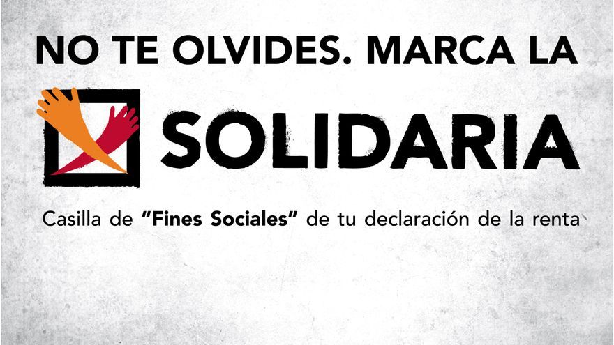 La campaña de la X solidaria.
